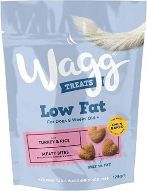 Wagg Low Fat Treats Turkey & Rice 125g