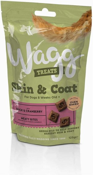 Wagg Skin & Coat Treats Duck & Cranberry 125g