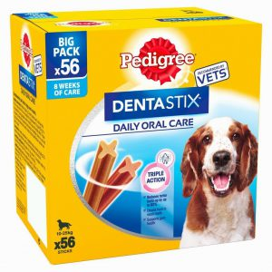 Pedigree Dentastix Medium Dog 56x Pack