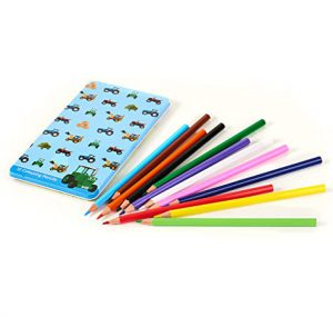 Tractor Ted 12 Colouring Pencils