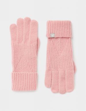 Joules Thurley Gloves Pink