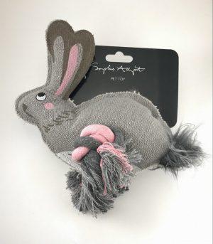 Sophie Allport Hare Dog Toy