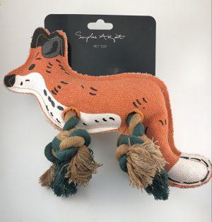 Sophie Allport Fox Dog Toy