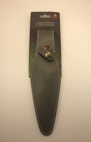 Topiary Shears Leather Holster
