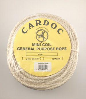 Cardoc Mini-Coil General Purpose Rope 30Metres
