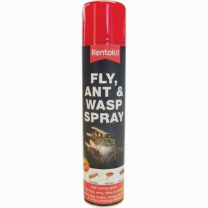 Rentokil Fly and Wasp Killer Spray 300ml