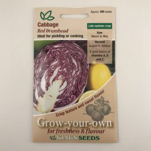 Cabbage Red Drumhead