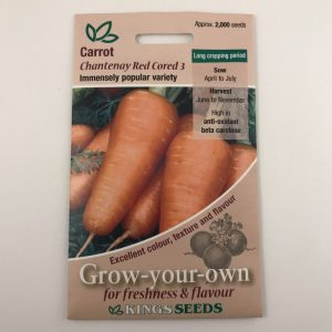 Carrot Chantenay Red Cored 3