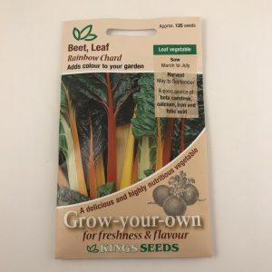 Beet Leaf Rainbow Chard