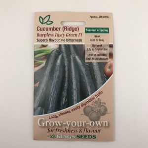 Cucumber (Ridge) Burpless tasty green F1