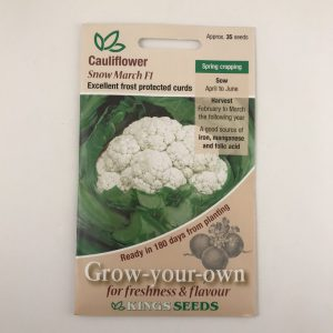 Cauliflower Snow March F1