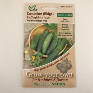Cucumber Bedfordshire Prize
