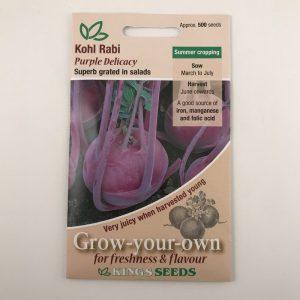 Kohl Rabi Purple Delicacy