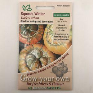 Squash Turks Turban