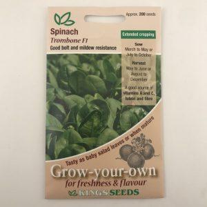 Spinach Trombone F1