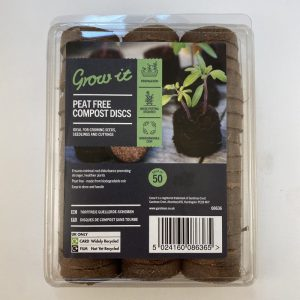 Peat Free Compost Discs 50 Pack