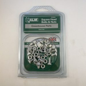 Square Head Bolts & Nuts Greenhouse Parts
