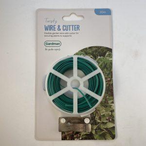Gardman Twisty Wire & Cutter 30m
